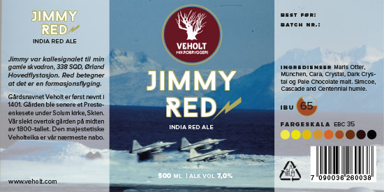 veholt jimmy red w550